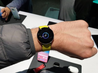 Galaxy Watch Active — первый взгляд