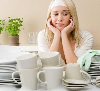 Моющие и ополаскивающие средства для мытья посуды