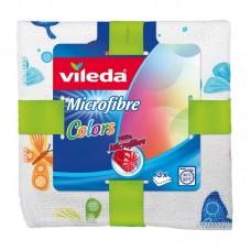 Тряпочки для уборки дома Vileda Allzwecktuch Microfaser Colors Design 3er Pack